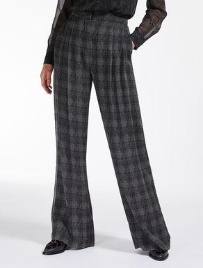 Silk georgette trousers