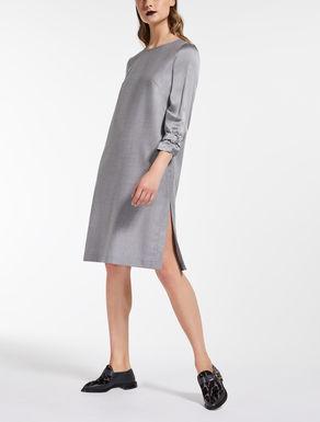 Fulled wool dress