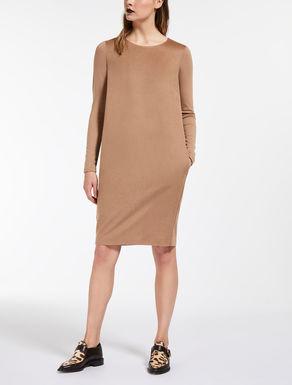ピュア キャメルバイマテリアル ドレス