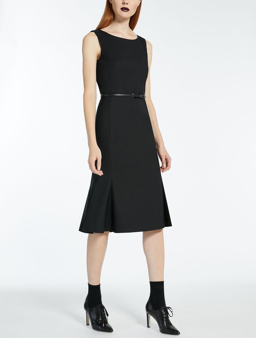 ヴァージンウールシルク ドレス