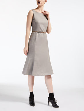 Woll- und Seidenkleid