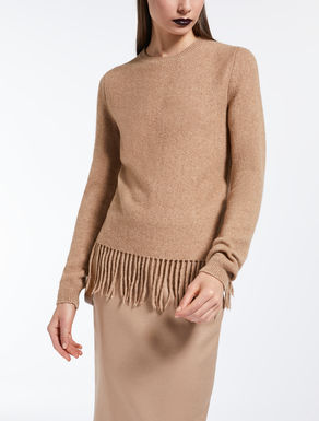 Wool and camel jumper