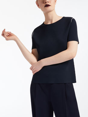 Reversible viscose T-shirt