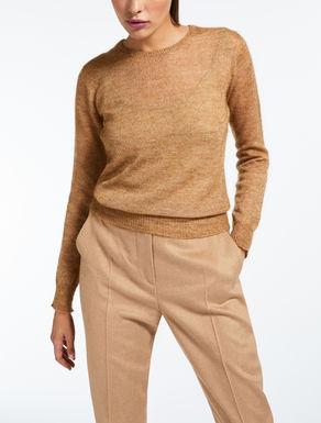 Mohair wool yarn sweater
