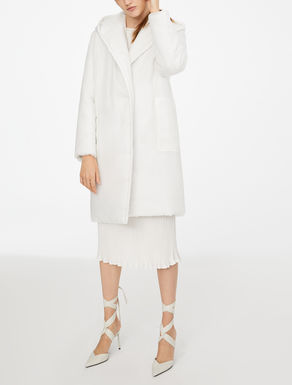 Silk and camel Anima coat