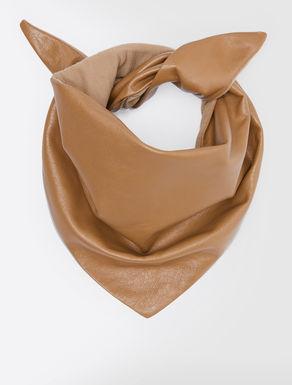 Leather foulard