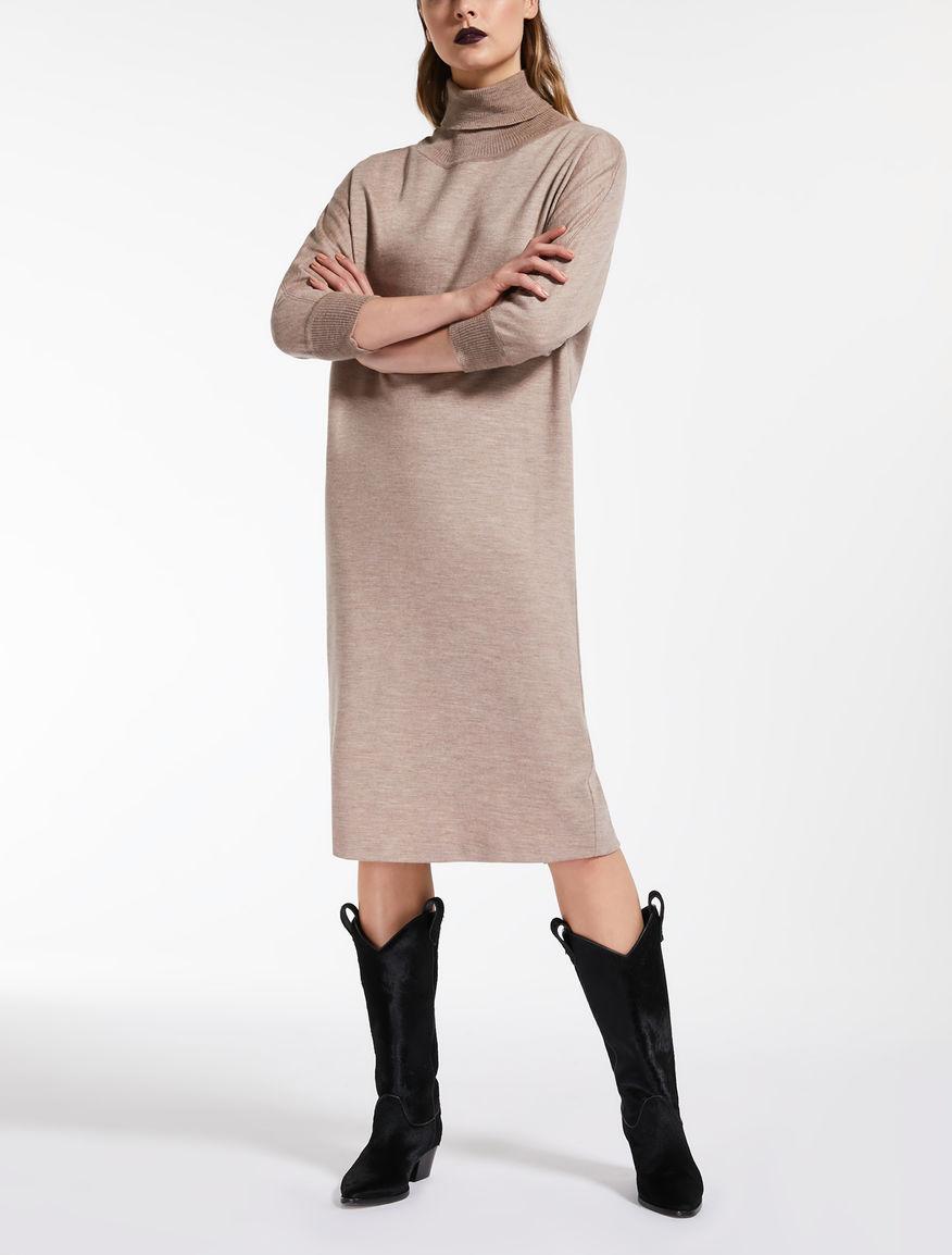 Vestido de punto en algodon