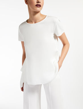 T-shirt in charmeuse di seta