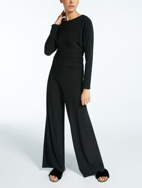 Technical fabric jumpsuit