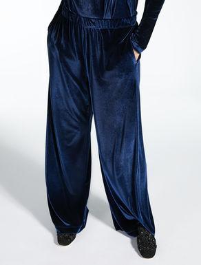 Pantalón en terciopelo