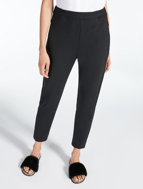 Scuba fabric trousers