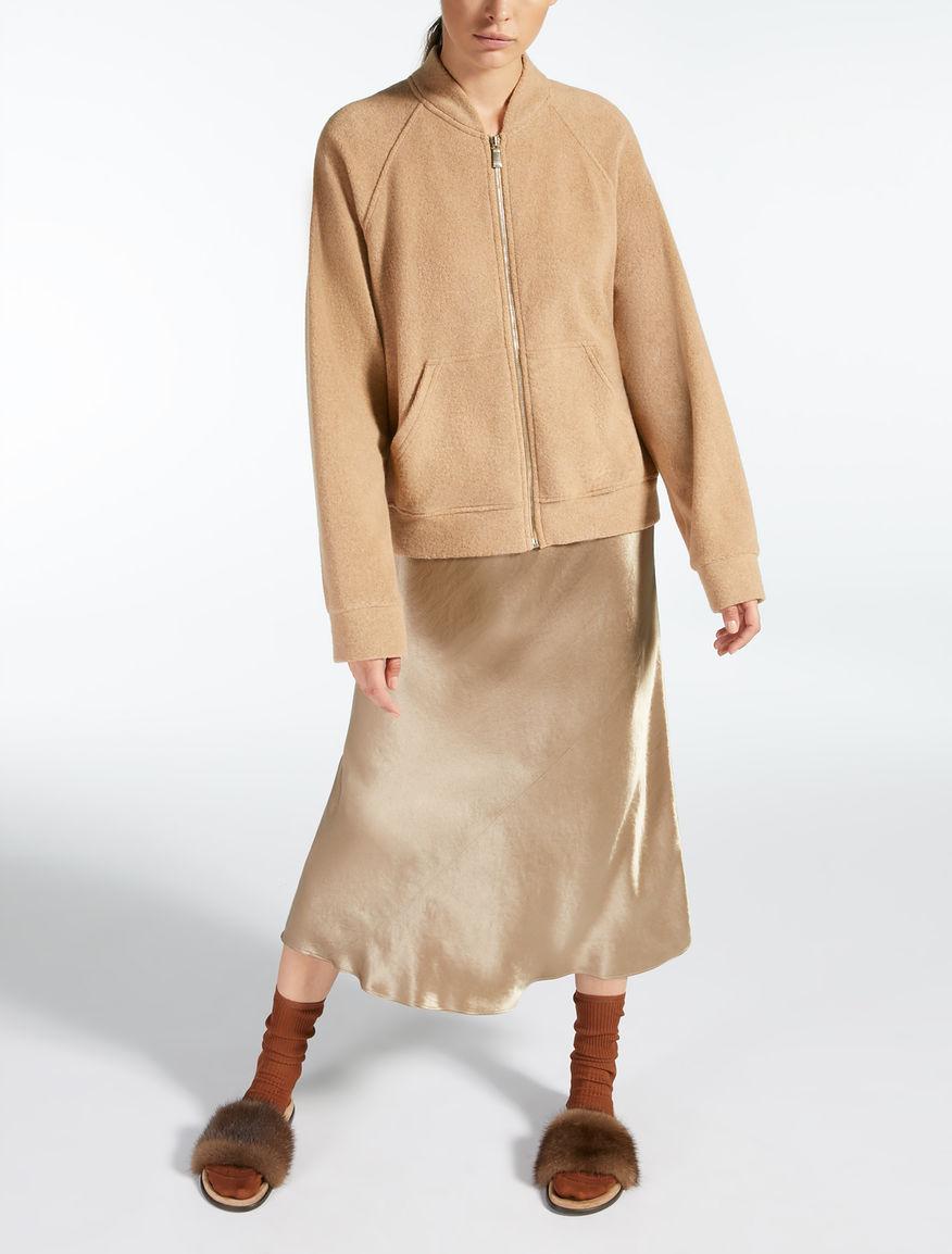 카멜 재킷