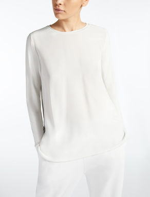 Silk crepe de chine blouse