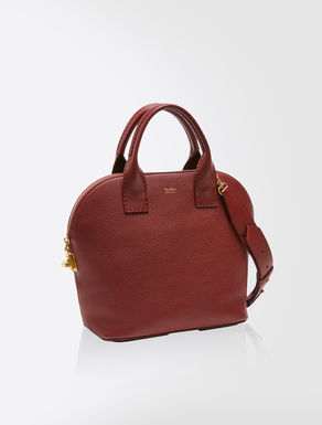 Grand sac shopping en cuir