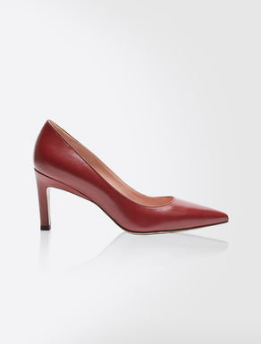 Leder-Pumps