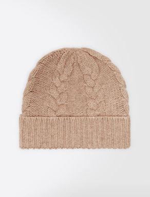 Cashmere yarn hat