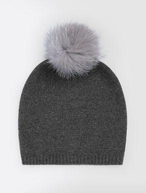 Mütze aus Nerz- und Fuchspelz