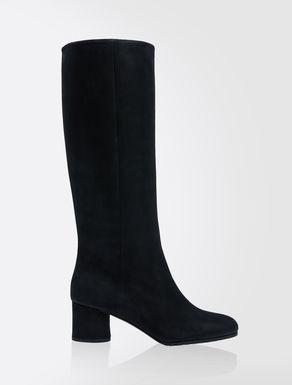 Botas de piel nobuk