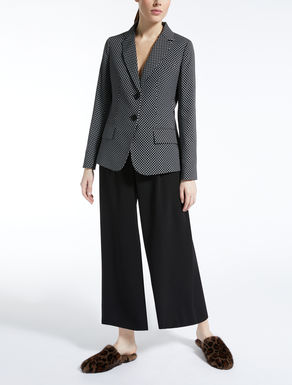 Stretch cady blazer