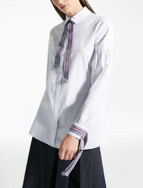 Camicia in panama di cotone