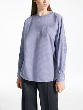 Cotton twill blouse