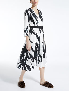 코튼 포플린 드레스