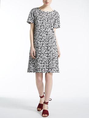ピュア コットンサテン ドレス