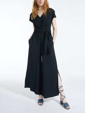 Viscose sable jumpsuit