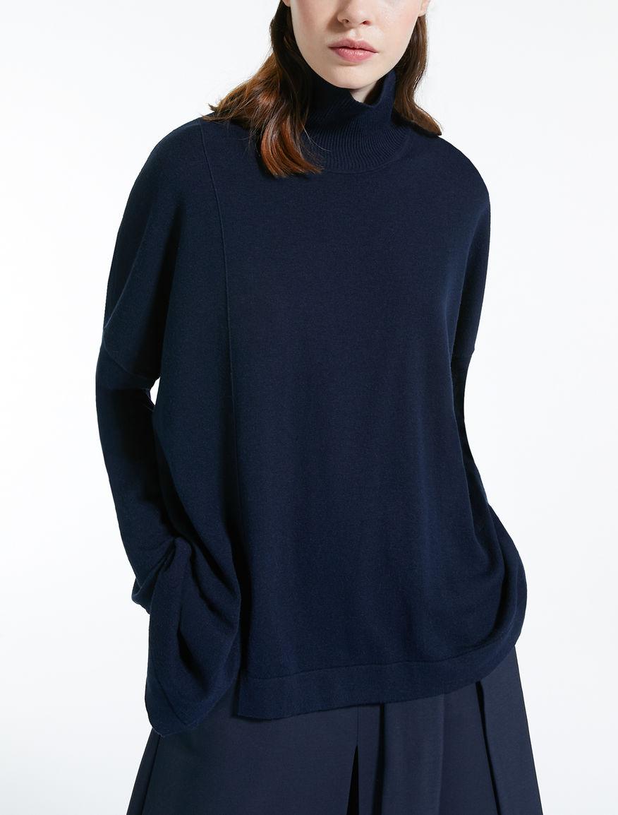 Silk and wool yarn jumper 3f50baeb987