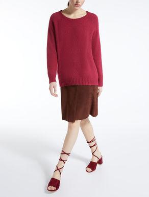 알파카 모헤어 코튼 혼방 스웨터