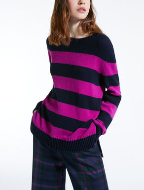 Cashmere yarn jumper