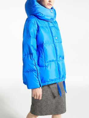 Water-repellent nylon taffeta down coat