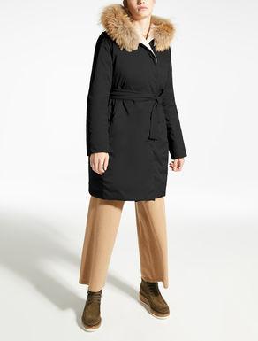 Water-repellent down coat