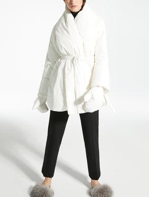 Water-repellent canvas down coat