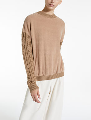 Cotton jersey jumper