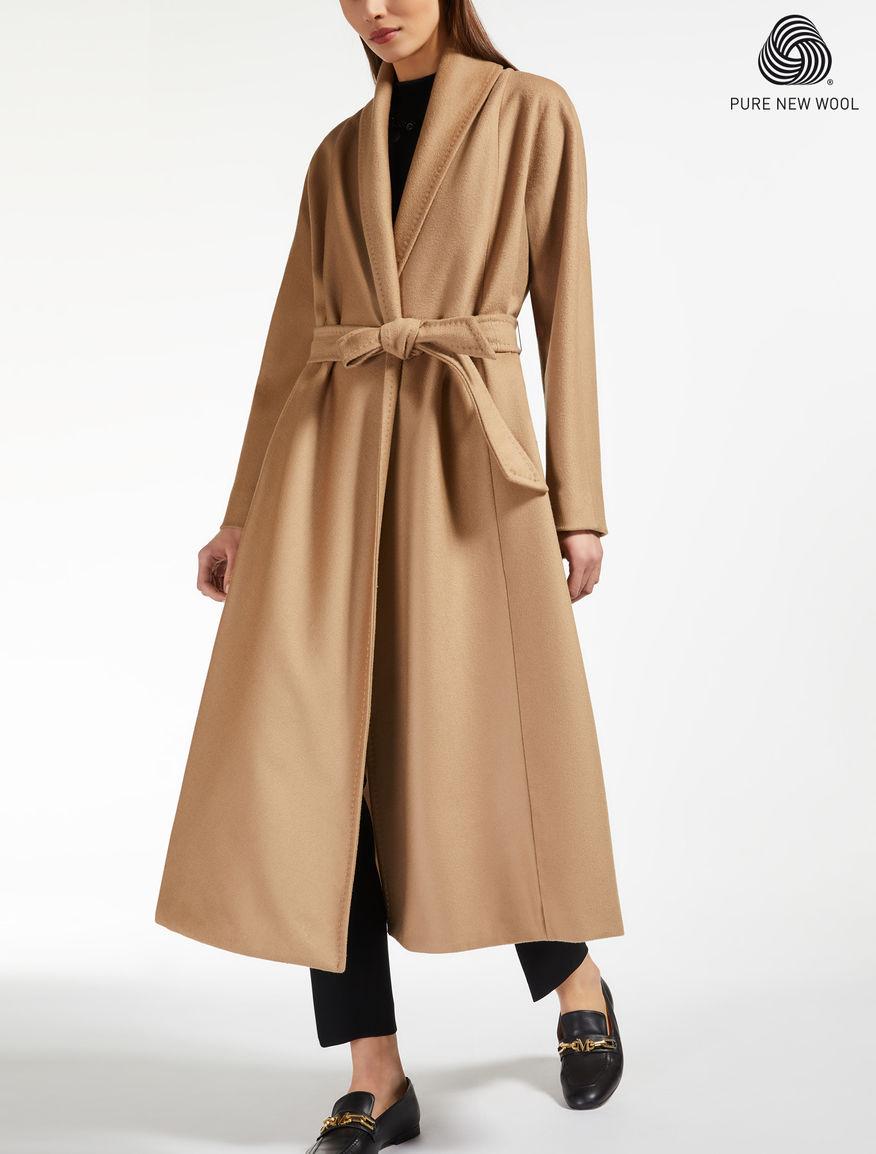 wool coat camel sorbona max mara