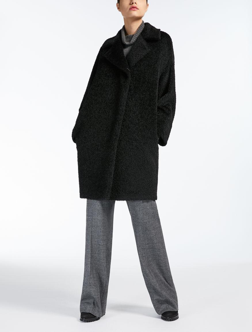 6af265ec5d97c Alpaca and wool coat black jpg 876x1154 Black wool coat
