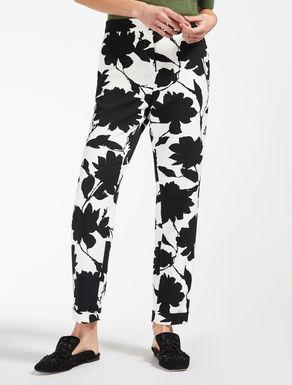 Hose aus bedrucktem Cady
