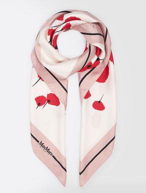 Silk twill foulard