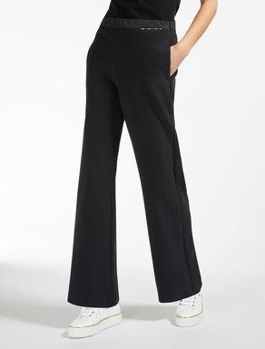 Pantalón en punto de algodón
