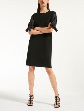 Cady and taffeta dress