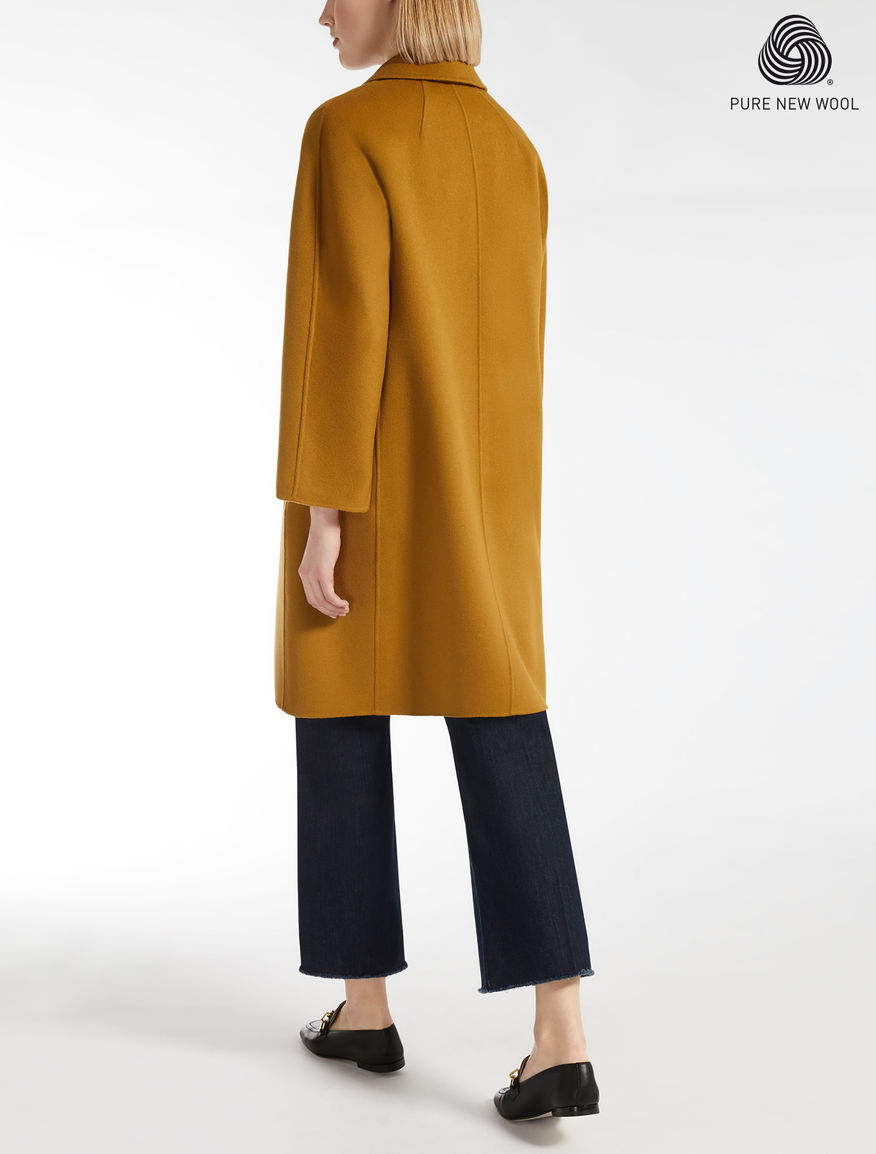 Max mara mantel orange