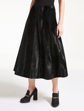 Persian-effect fabric skirt
