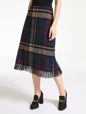 Wool cloth skirt