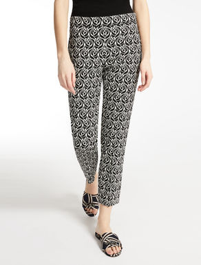 Viscose cady trousers