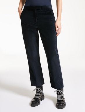 Hose aus Baumwollsamt
