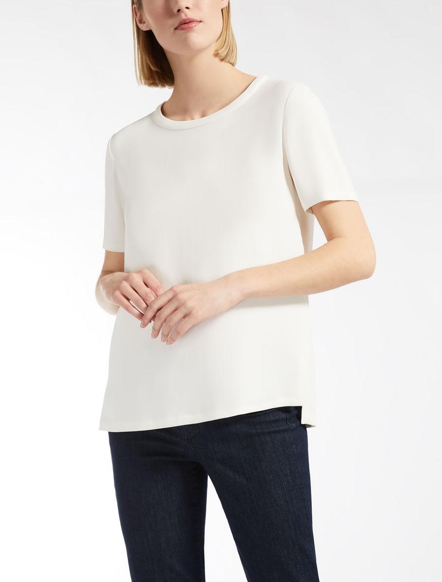 Viscose cady T-shirt
