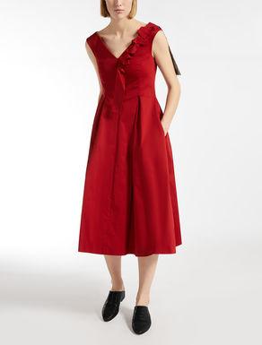 Cotton satin dress