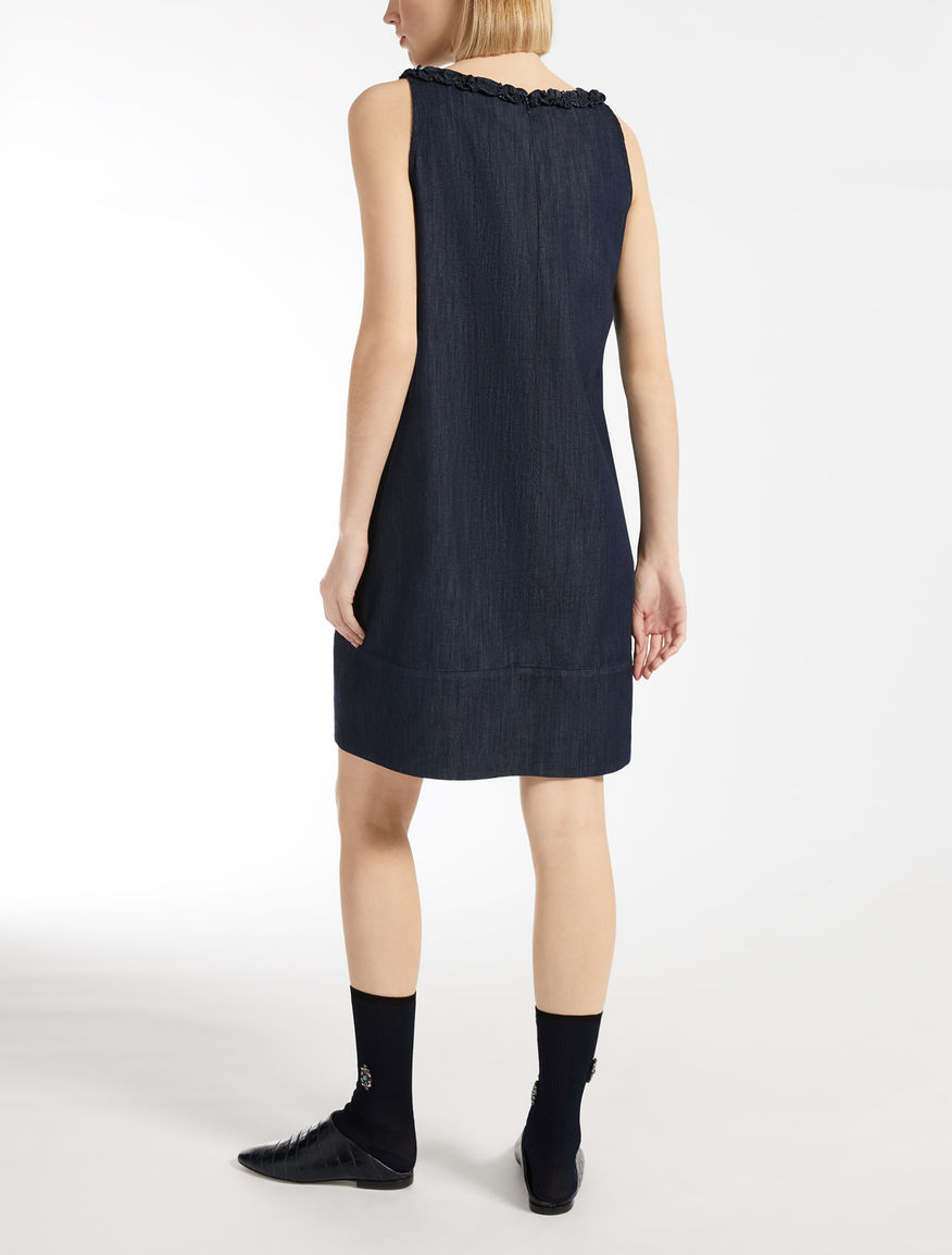 Max Mara - Cotton denim dress - 2