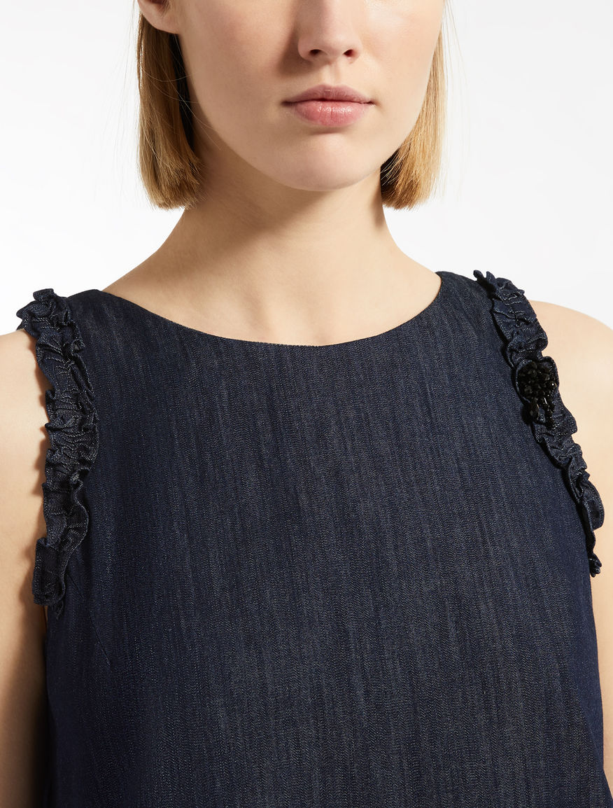 Max Mara - Cotton denim dress - 3